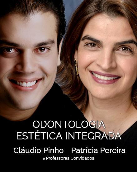 curso odontologia estética integrada com cláudio pinho patrícia pereira